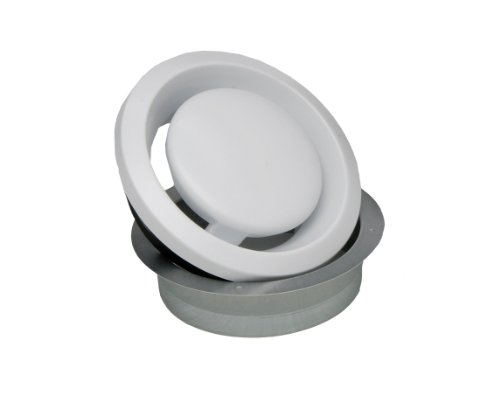 S&P BOC100 Metal Adjustable Round Grilles by Soler & Palau