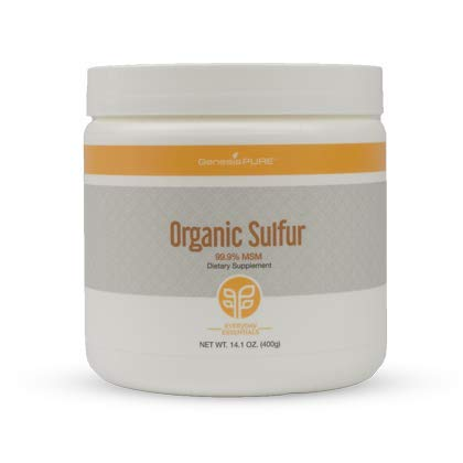 Genesis Pure Organic Sulfur Dietary Supplement 14.1 oz.(400g)
