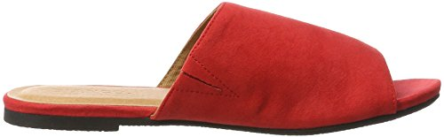 Bianco Trend Pantolette - Mules Mujer Rot (Red)