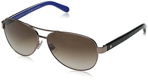 Kate Spade Women's Dalia 2 Aviator Sunglasses, Brown & Brown Gradient, 135 - Brown Dalia