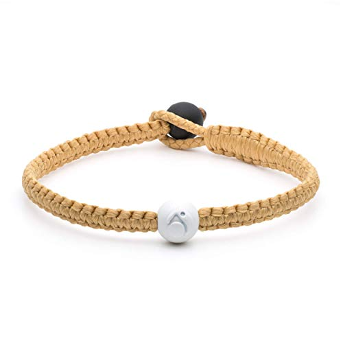 Lokai Single Wrap Bracelet, Gold, Small
