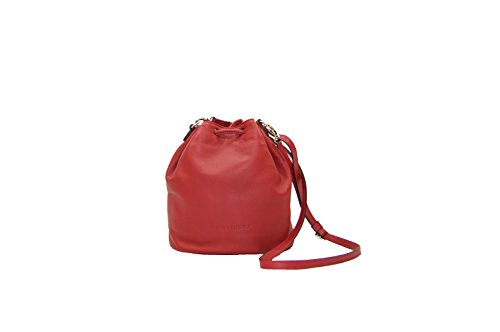 PLINIO VISONA' Regina, Cartable pour Femme rouge Rosso (Ciliegia) 15x25x24 cm (W x H x L)