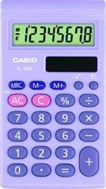 Casio lila 8/Taschenrechner sl460l