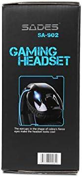 SADES SA902 USB Gaming Headset 7.1 Surround - Actualités des Jeux Videos