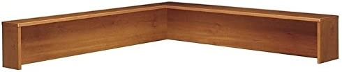 Series C Reception L-Shelf in Auburn Maple - Engineered Wood