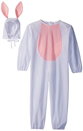 Child Large 12-14 for 8-10 Yrs. - ECONOMY Bunny Costume (Ears do NOT stand up as pictured. Socks and -