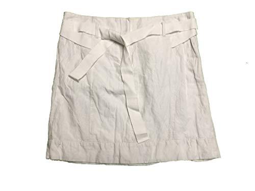 Ann Taylor LOFT Women's Short Skirt Belted Size 0 White