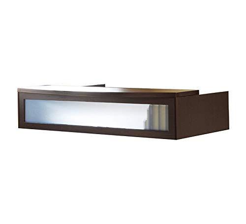 - Wood & Style Furniture Transaction Counter for use with Reception Desk, Sold Separately, Cherry Tf Premium Office Home Durable Strong