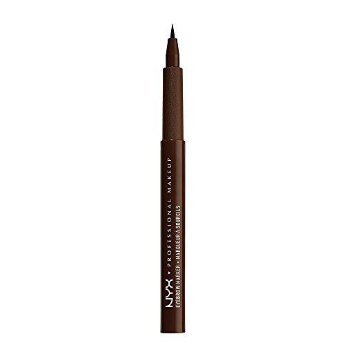 NYX Cosmetics Eyebrow Marker, Deep Brown, EBM02