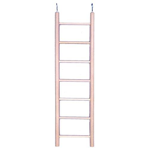 Penn Plax (BA110) 7-Step Wooden Bird Ladder