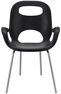 Umbra OH Polypropylene Chair, Black