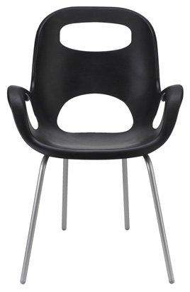 Exceptionnel Umbra OH Polypropylene Chair, Black
