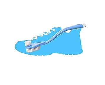 Drove plástico mango largo Zapatillas de deporte de doble cara cepillo de limpieza: Amazon.es: Hogar