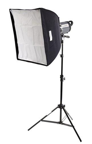 500w Tungsten Light Head - Interfit INT185 Stellar X Tungsten Single Head and Softbox Kit