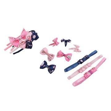 12pcs elástica diademas y juego de accesorios para el pelo para bebés y  niñas 9eb9a40f127
