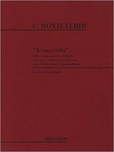 Livres gratuits A Voce Sola epub, pdf
