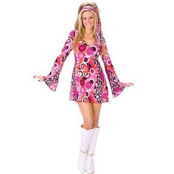 Feelin' Groovy Costume - Small/Medium - Dress Size 2-8 (Haloween Costume Ideas For Couples)