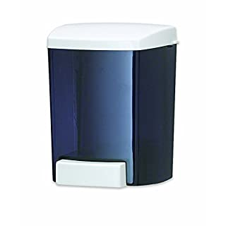 San Jamar S30TBK Bulk Liquid/Lotion Soap & Hand Sanitizer Dispenser, 30 oz. Capacity, Black