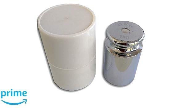 G & G G&G M2 - Peso para calibrar básculas digitales, incluye tubo protector, 200 g: Amazon.es
