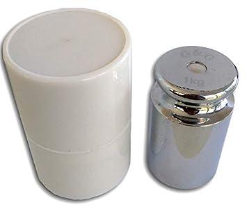 G & G G&G M2 - Peso para calibrar básculas digitales, incluye tubo protector,