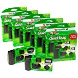 Fuji 35mm QuickSnap Single Use Camera, 400 ASA (FUJ7033661) Category: Single Use Cameras (Discontinued by Manufacturer), 20 Count ()
