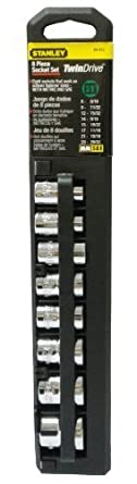 STANLEY 8-Piece Double Sided Socket Set Twin Drive - Metric and SAE [Misc.] by Illinois Industrial Tool