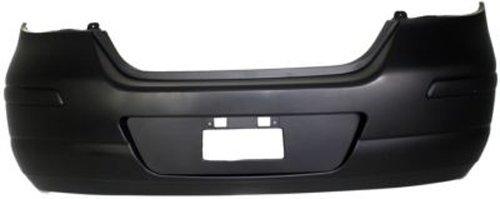 Crash Parts Plus Primed Rear Bumper Cover Replacement for 2007-2012 Nissan Versa Hatchback