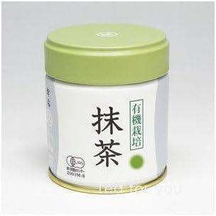 丸久小山園 有機栽培抹茶 抹茶 有機栽培抹茶 緑印(みどりじるし)40g缶入