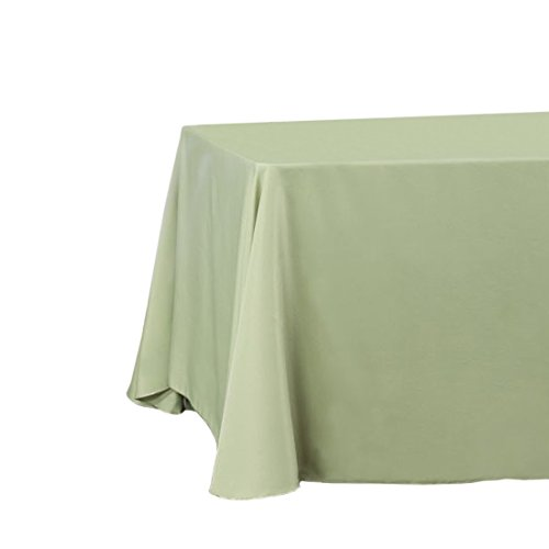 LinenTablecloth Rectangular Tablecloth, 90 x 132, Reseda