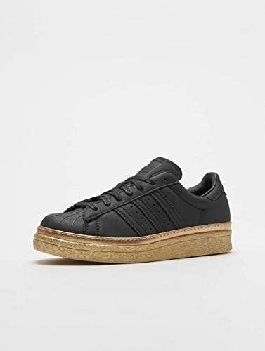 adidas Superstar 80s New Bold Black Black Gold Metallic