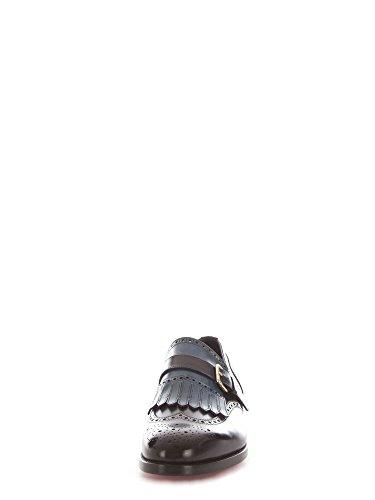 SANTONI Uomo Blu Monk MCC013976MC1HTRGU59 Strap Pelle rqYprx