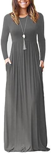 Viishow Womens Sleeve Dresses Pockets