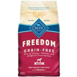 Blue Buffalo Blue Freedom Adult Beef Bag, 4 lb.