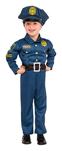 Child size Top Cop Costume - Police Officer - 3 sizes ()