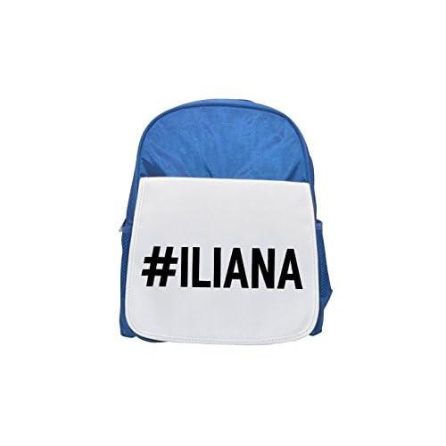 # Iliana Printed Kid 's blue Backpack, cute Backpacks, cute small Backpacks, cute Black Backpack, Cool Black Backpack, Fashion Backpacks, Large Fashion Backpacks, Black Fashion Backpack