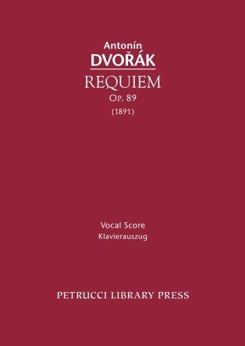 Requiem, Op. 89: Vocal score