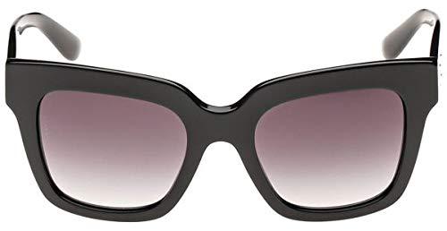 52941449d Dolce & Gabbana Square Sunglasses for Women - Full Rim Grey Frame, Grey  Lens,