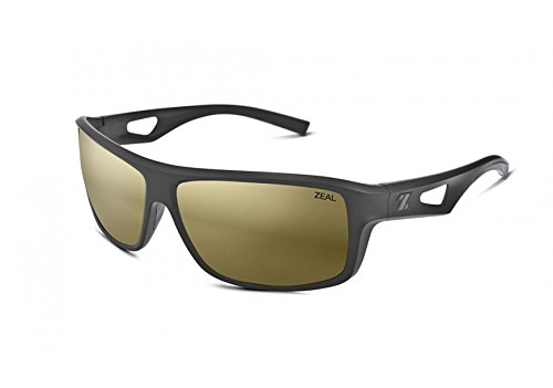 Zeal Optics Range Polarized Sunglasses (Black, - Sunglasses Zeals