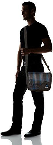 Deuter bolso Attend Azul Blueline Check Talla:25 x 34 x 14 cm, 10 Liter Azul - Blueline Check