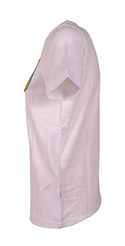 T S007jf049dq38dd000 Mujer Algodon Dondup shirt Blanco 8TzqO4wg