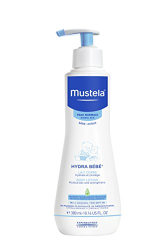 Price comparison product image Mustela Hydra Bebe Body Lotion, Daily Moisturizing Baby Lotion for Normal Skin, with Natural Avocado Perseose, Available in Different Sizes