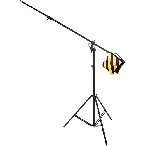 (RPS Studio 4-Section 12 ft. Boom Arm/Light Stand Combo)