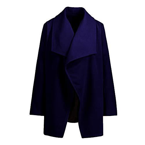 Asimmetrica Holywin Marino Blu Tasca Cappotto A Delle Vento Modo Giacca Donne 2018 Giacca Nuove 60F6xrw4q
