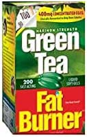 Applied Nutrition Green Tea Fat Burner with EGCG, 400mg 200 Soft gels
