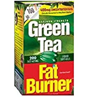 Applied Nutrition Green Tea Fat Burner with EGCG, 400mg (200 Soft gels)