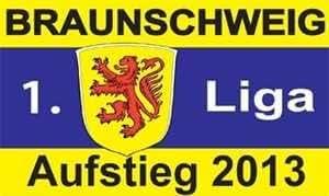 FRIP–Braunschweig Aufstieg 2013Bandera de fútbol, 1,50x 0,90m