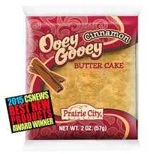 PRAIRIE CITY BAKERY OOEY GOOEY CINNAMON CAKE 10CT BOX