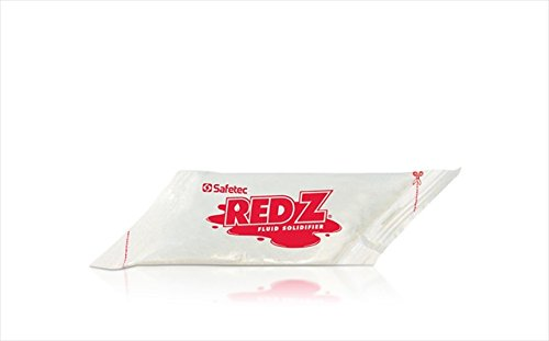 Safetec of America 41132 Red Z44; 2 oz. Diamond Pouch44; Case of 100 by Safetec of America