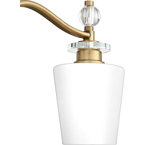 Quoizel HS8603C Hollister Vanity Bath Lighting, 3-Light, 300 Watts, Polished Chrome (10'' H x 23'' W) by Quoizel (Image #7)