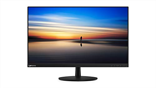 Lenovo L27M-28 27-Inch FHD LED Backlit LCD USB Type-C Monitor, FreeSync, Wide Angle, Narrow Bezel, 75Hz, 4ms, Vesa Mount Capable, 65E6KAC1US